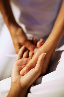 Testes especiais do punho e mão