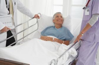 Alguns casos, é necessário restringir os movimentos do paciente no leito