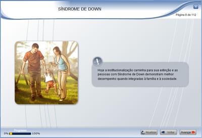 Curso A inclusão da criança com Síndrome de Down