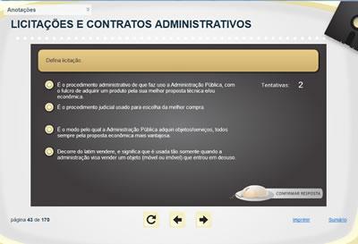 Curso Licitação e Contratos Administrativos