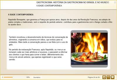 Curso Gastronomia