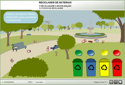 Curso Reciclagem de Materiais
