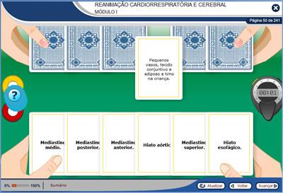 Curso Reanimação Cardiorrespiratória e Cerebral