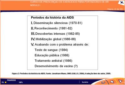 Curso Prescrição de exercícios físicos para portadores de HIV