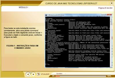 Curso Java nas Tecnologias JSP/Servlet JSP