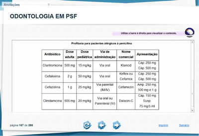 Curso Odontologia em PSF