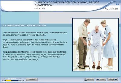 Curso Cuidados de Enfermagem com Sondas, Drenos e Cateteres