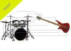 Curso Bass and Drums - Baixo e Bateria - Básico
