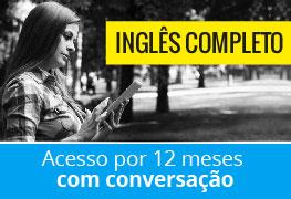 Inglês UOL (12 meses, com conversação)