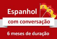 Espanhol (06 meses, com conversação)