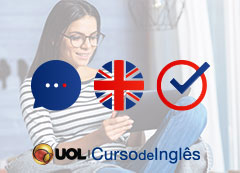 Inglês UOL (12 meses - reading, listening and writing)