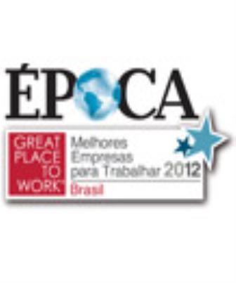 2012 - Melhores Empresas para Trabalhar do Brasil e do Centro-Oeste - Great Place to Work