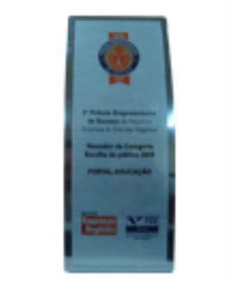 2009 - Prêmio Empreendedor de Sucesso - Revista Pequenas Empresas & Grandes Negócios - Ed. Globo