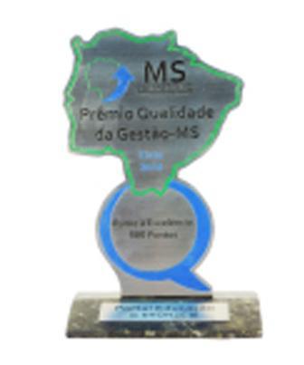 2010 - Prêmio Qualidade da Gestão MS - PQG/MS